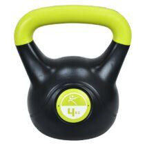 Füles súlyzó - Kettlebell, műanyag, 4 kg LIFEFIT