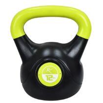 Füles súlyzó - Kettlebell, műanyag, 12 kg LIFEFIT