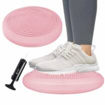Masszázs- és egyensúlypárna (Dynair) - pink SPRINGOS