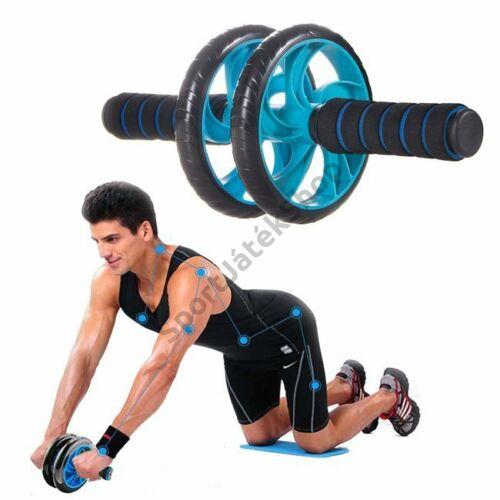 Fitnesz kerék, dupla SPRINGOS - SportSarok