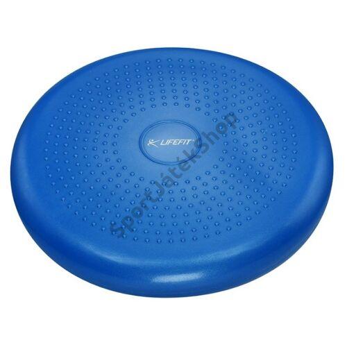 Masszázs- és egyensúlypárna, kék LIFEFIT-Sportsarok