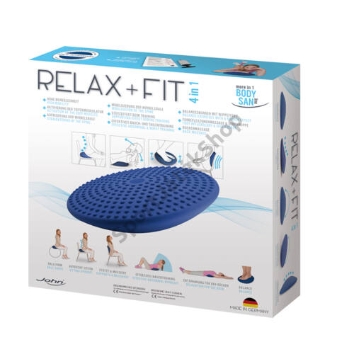 Relaxációs ülőlabda JOHN RELAX AND FIT 4in 1-SPORTSAROK