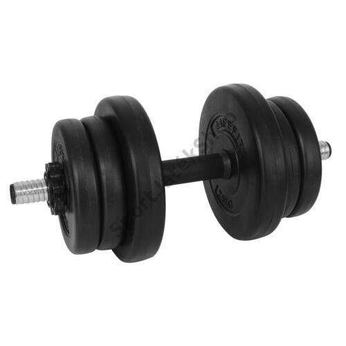 Kézisúlyzókészlet, 10 kg LIFEFIT PREMIUM-SportSarok