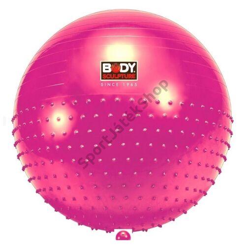 Masszázs gimnasztikai labda, 65 cm BODY - SportSarok