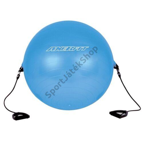 Gimnasztika labda kapaszkodóval, 65 cm AXER - SportSarok