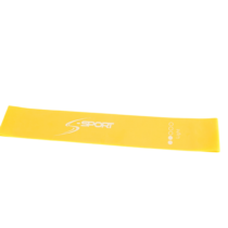 S-SPORT Mini Band Erősítő gumiszalag, sárga