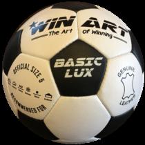 Bőr focilabda, 5-s méret WINART BASIC LUX - SportSarok