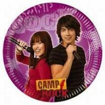 Camp Rock party tányér - SportSarok